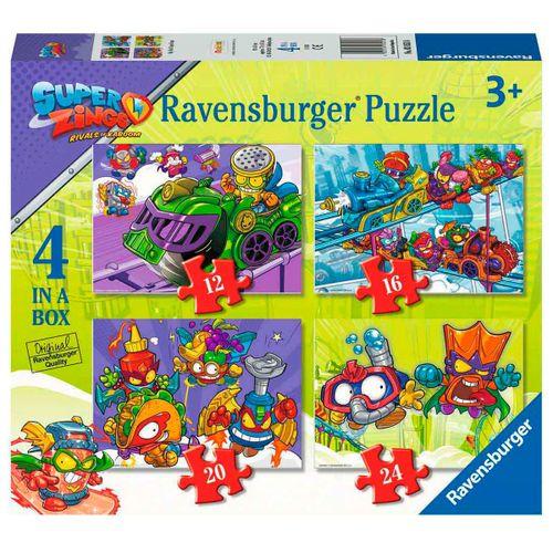 Superzing Puzzles Progresivos 12+16+20+24 Piezas
