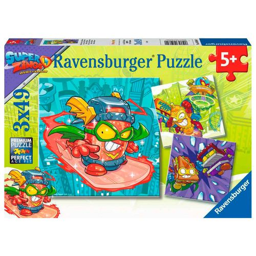Superzings Pack Puzzle 3x49 Piezas