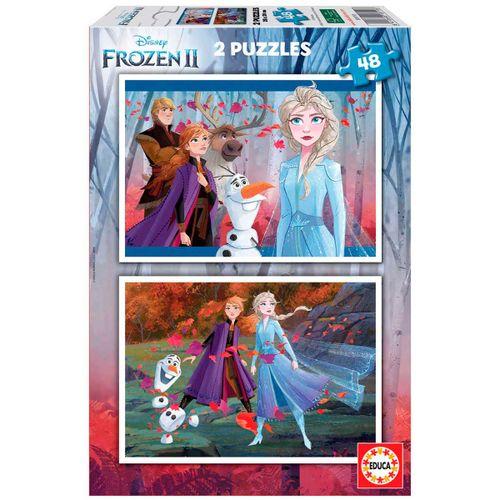 Frozen 2 Puzzles 2x48 Piezas