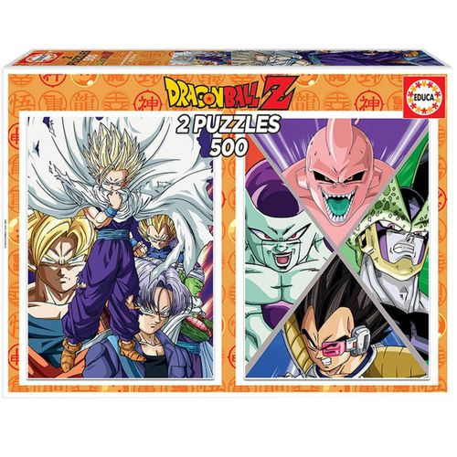 Dragon Ball Pack Puzzles 2x500 Piezas