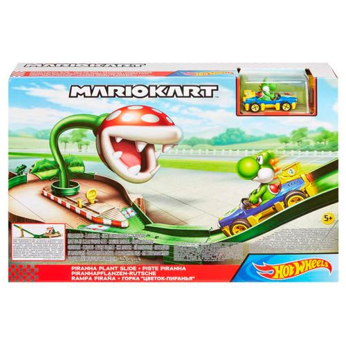 Hot Wheels Mario Kart Rampa Piraña