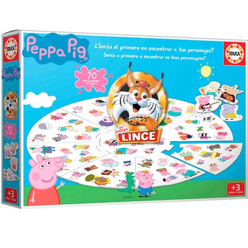 Mi Primer Lince Juego Edición Peppa Pig