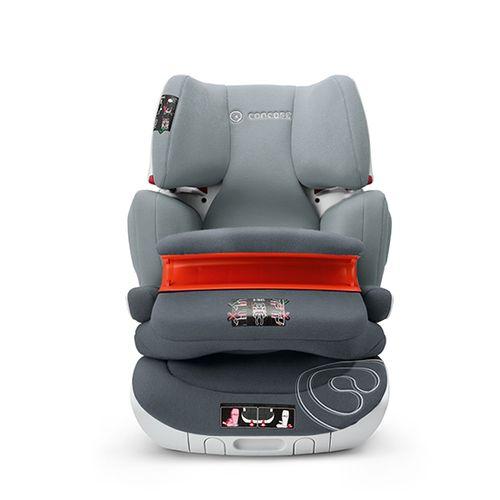 Silla de auto Transformer XT Pro Grupo 1-2-3 Grey