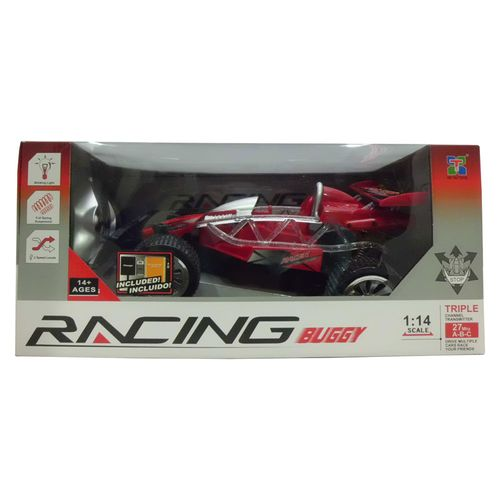 Coche RC Buggy Racing Rojo Escala 1:14