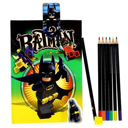 Lego Batman Set de Papelería con Agenda