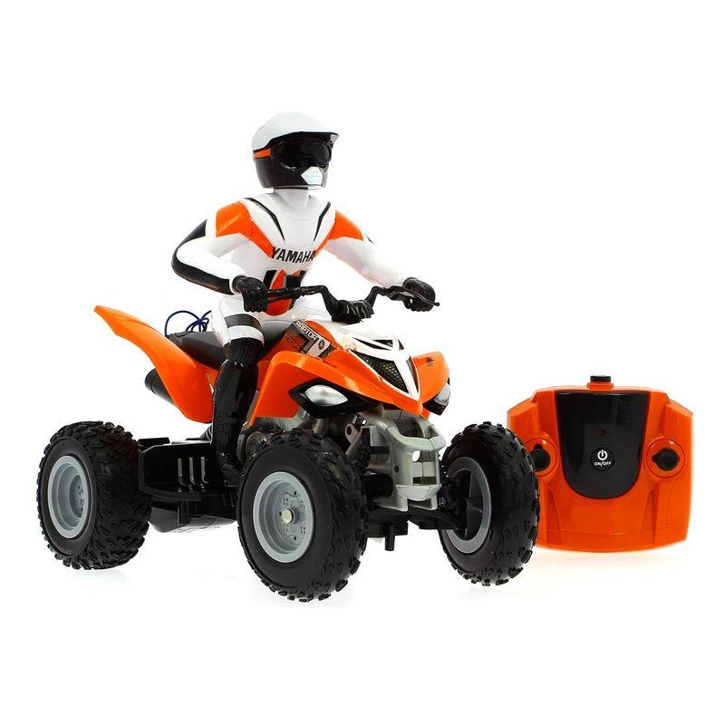 Quad-Yamaha-Raptor-700R-Naranja-escala-1-16-R-C