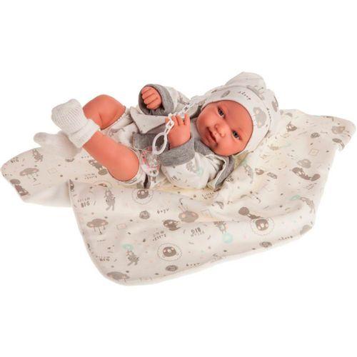 Muñeca Bebé Recién Nacida Pipa Osito