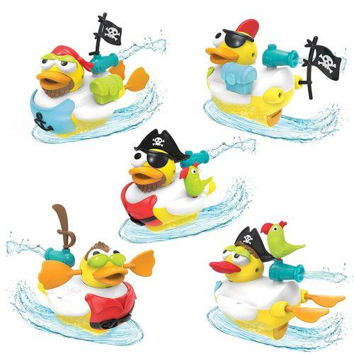Juego de baño Pato Jet crea un pirata