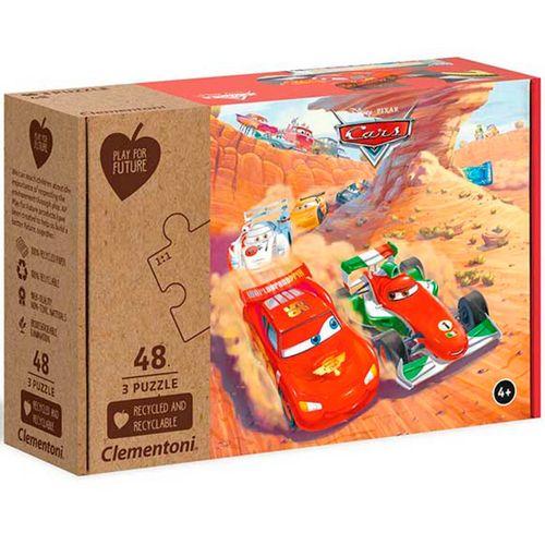 Cars Pack Puzzle 3x48 Piezas