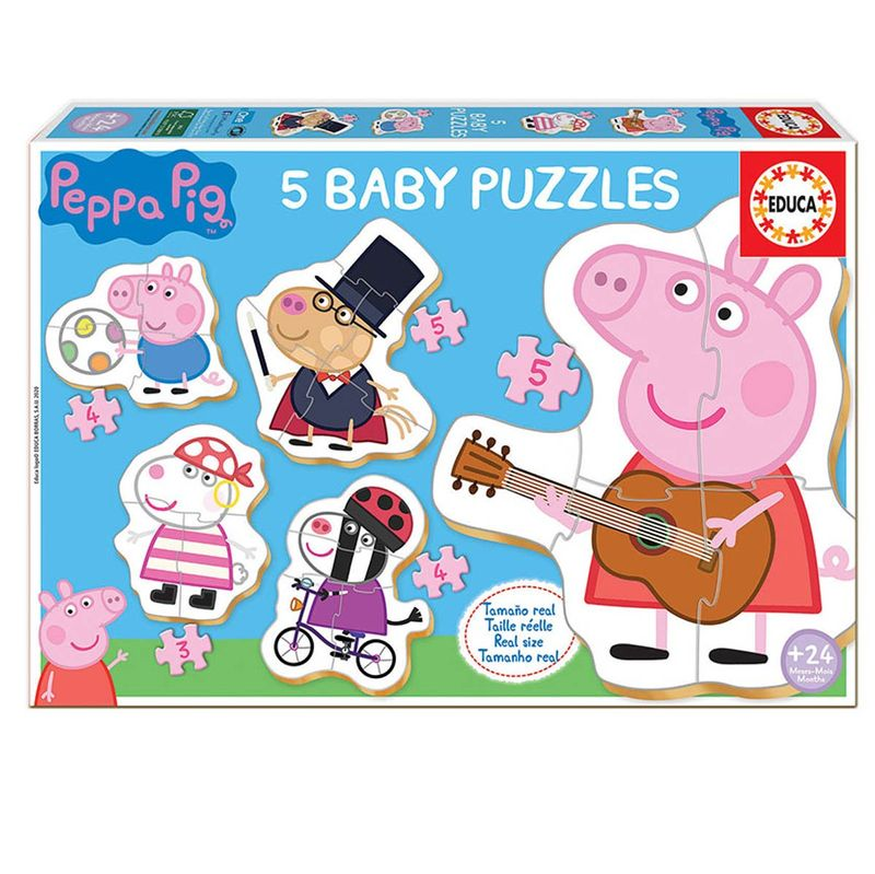 Peppa-Pig-5-Baby-Puzzles