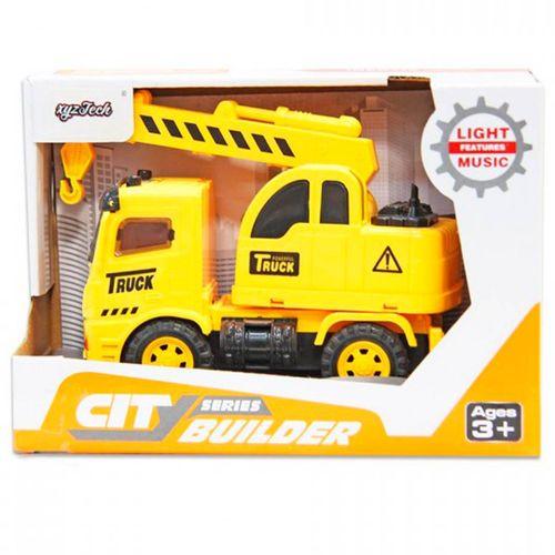Camión Construcción Infantil Luz y Sonido