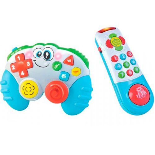 Pack Mando Consola y Televisión Infantil