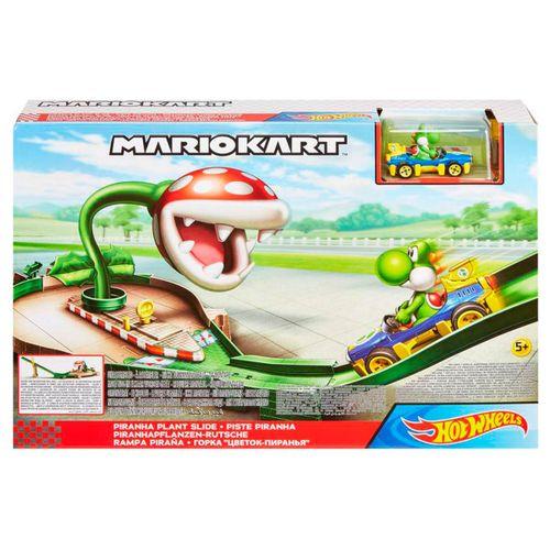 Hot Wheels Mario Kart Rampa Piraña