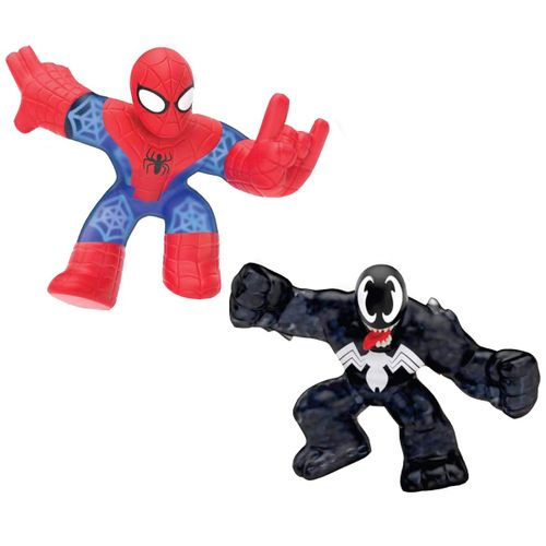 Goo Jit Zu Marvel Pack Spiderman vs Venom