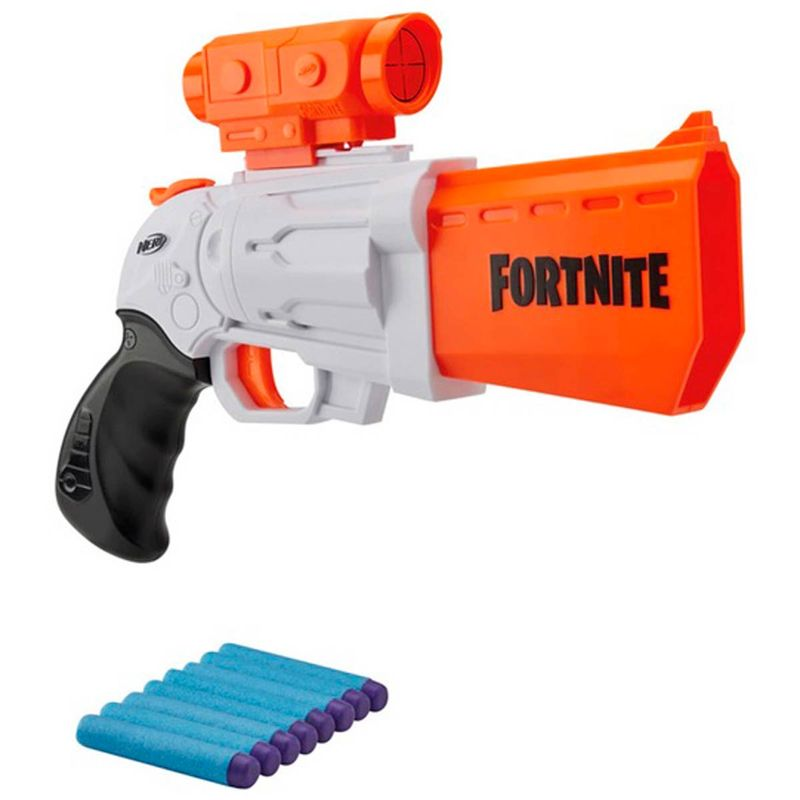 Nerf-Fortnite-Lanzador-Scoped-Revolver