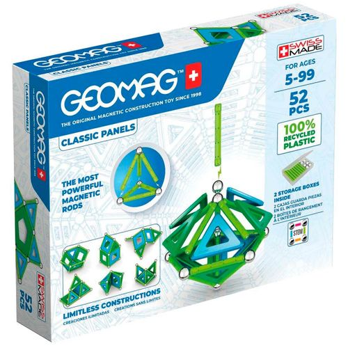 Geomag Green 52 Piezas