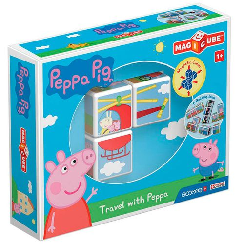 Geomag Magicube Viaja con Peppa Pig