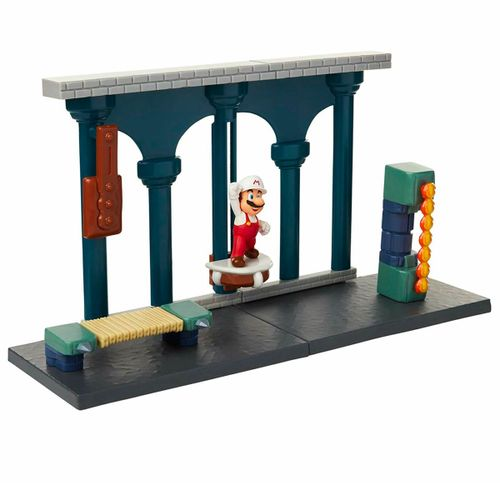 Super Mario Playset Castillo Lava