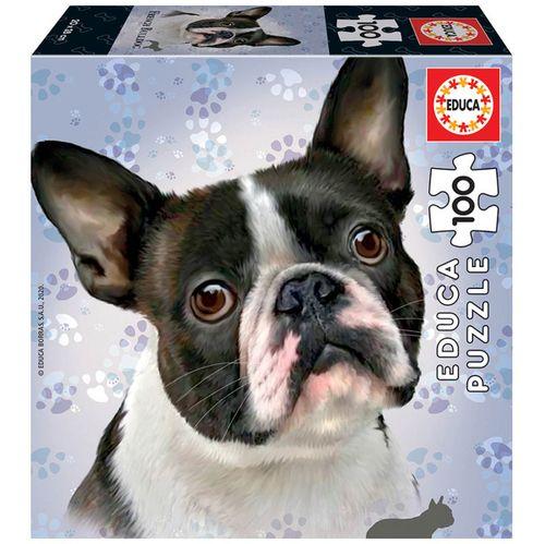 Puzzle Bulldog 100 Piezas