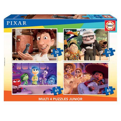 Pixar Puzzle Progresivo 20+40+60+80 Piezas