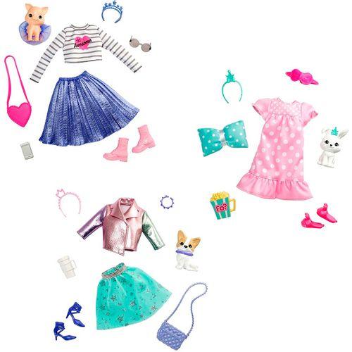 Barbie Princess Adventure Conjunto Moda Surtido