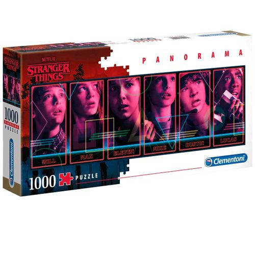 Stranger Things Puzzle Panorama 1000 Piezas