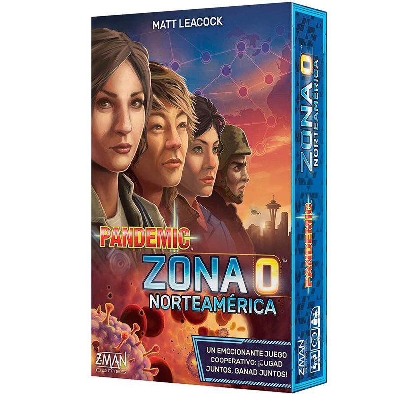 Pandemic--Zona-0-Norteamerica-Juego-Mesa