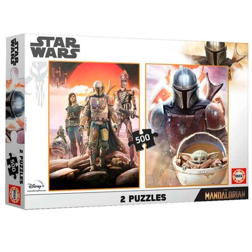 The Mandalorian Puzzle 2x500 Piezas
