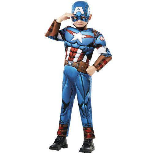 Vengadores Capitán América Disfraz Deluxe