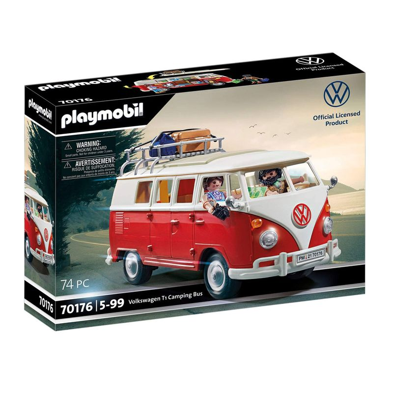 Playmobil--Volkswagen-T1-Camping-Bus