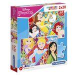 Puzzle-Princesas-Disney-2x20-piezas