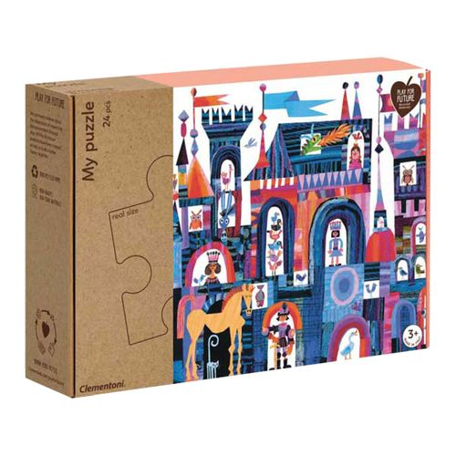 Puzzle Castillo Maxi 24 piezas