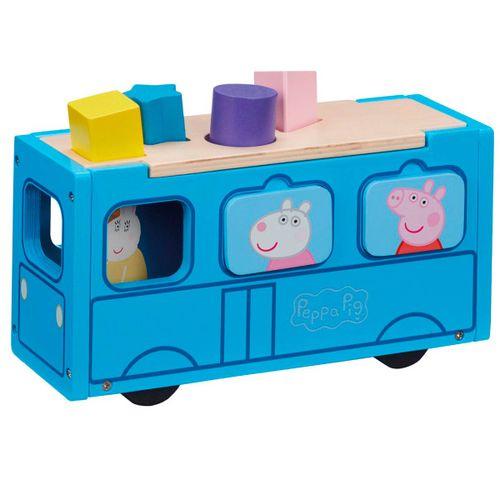 Peppa Pig Autobús de Madera