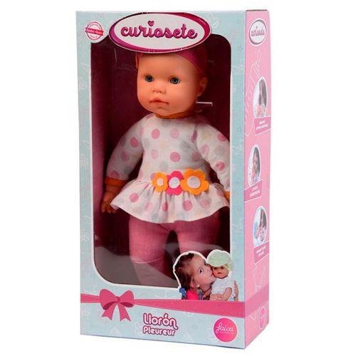Muñeco Bebé Curiosete Llorón