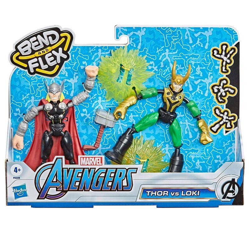 Los-Vengadores-Bend-and-Flex-Thor-vs-Loki_1