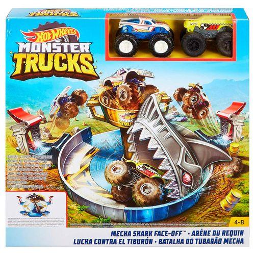 Hot Wheels Monster Trucks Pista Mecha Shark