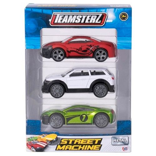 Teamsterz Pack 3 Coches Surtido
