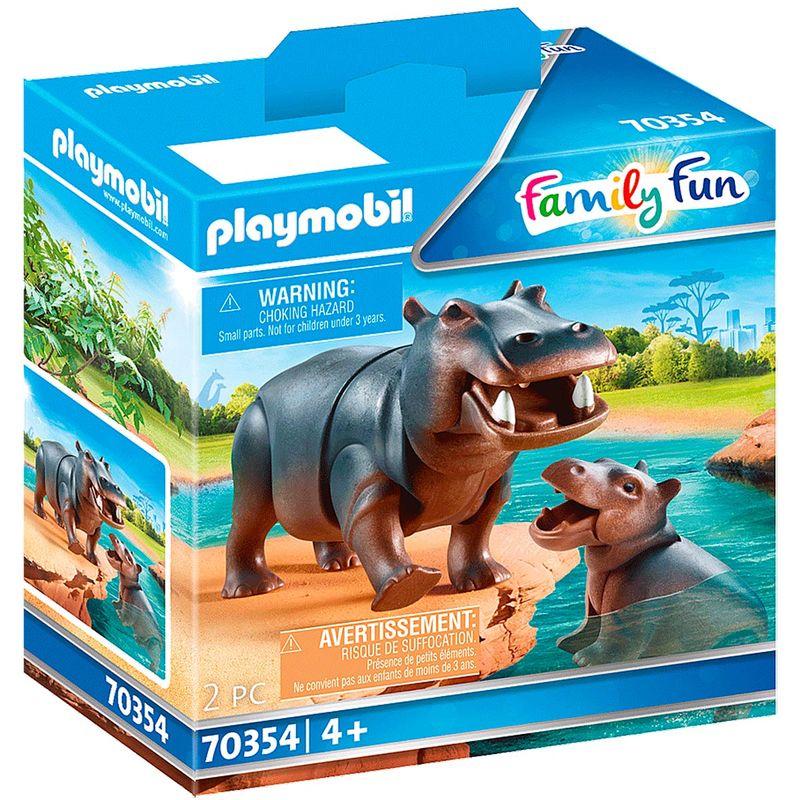 Playmobil-Family-Fun-Hipopotamo-con-Bebe