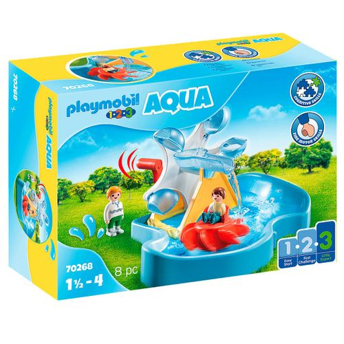 Playmobil 1.2.3 Aqua Carrusel Acuático