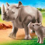 Playmobil-Family-Fun-Rinoceronte-con-Bebe_1