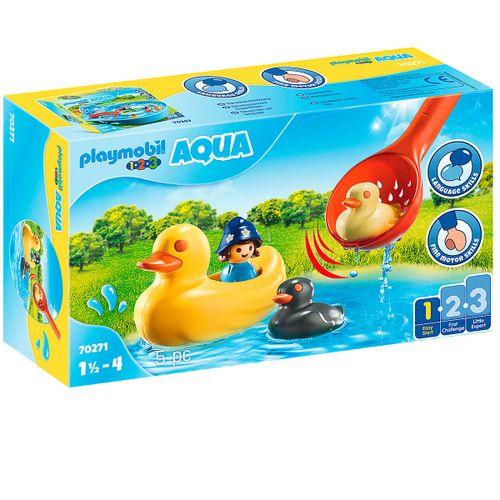 Playmobil 1.2.3 Aqua Familia de Patos