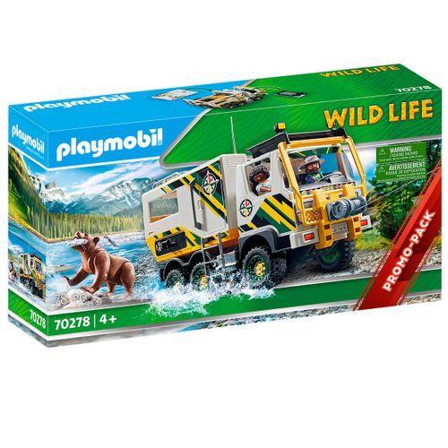 Playmobil Wild Life Camión de Aventuras
