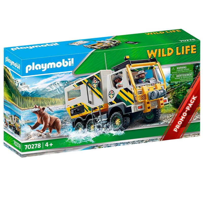 Playmobil-Wild-Life-Camion-de-Aventuras