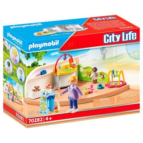 Playmobil City Life Habitación de Bebés