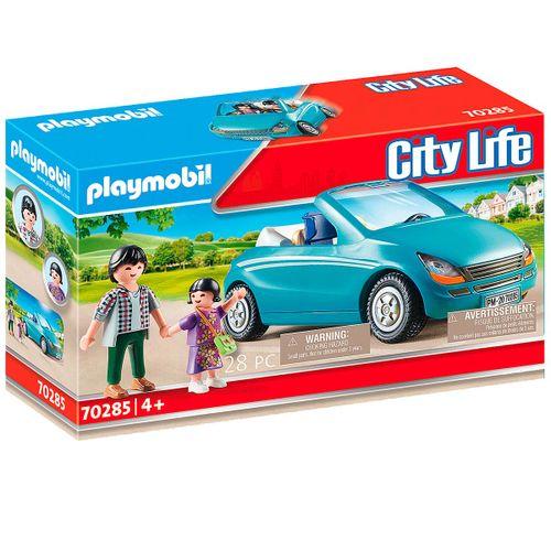 Playmobil City Life Familia con Coche