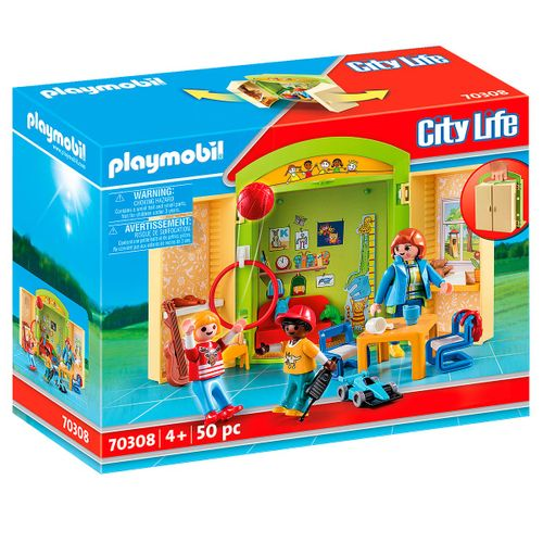Playmobil City Life Cofre Guardería