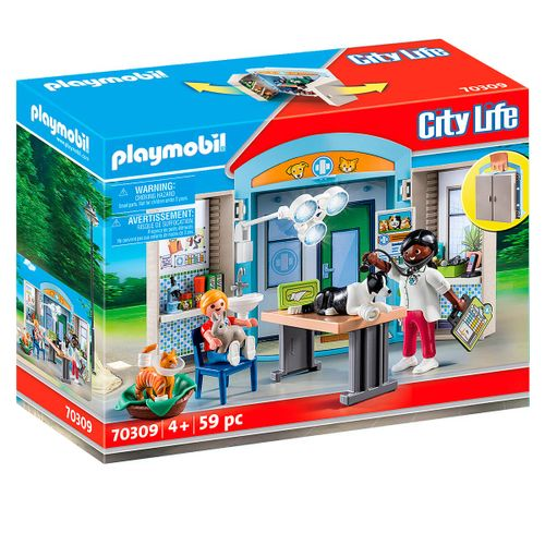 Playmobil City Life Clínica Veterinaria