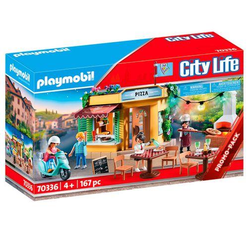 Playmobil City Life Pizzería