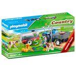 Playmobil-Country-Tractor-de-Carga-con-Tanque