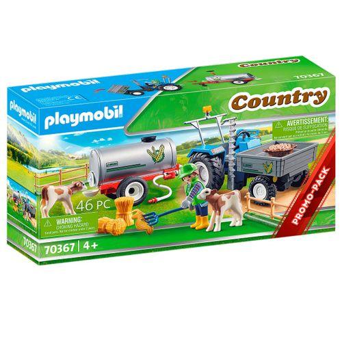 Playmobil Country Tractor de Carga con Tanque